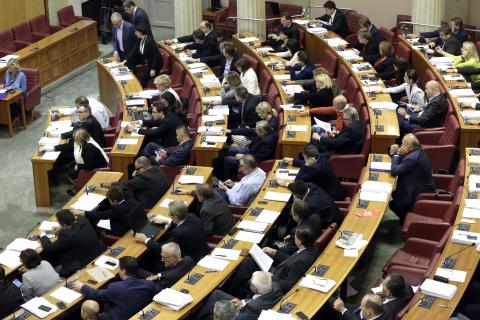 Izglasovan hrvatski proračun za 2020. godinu