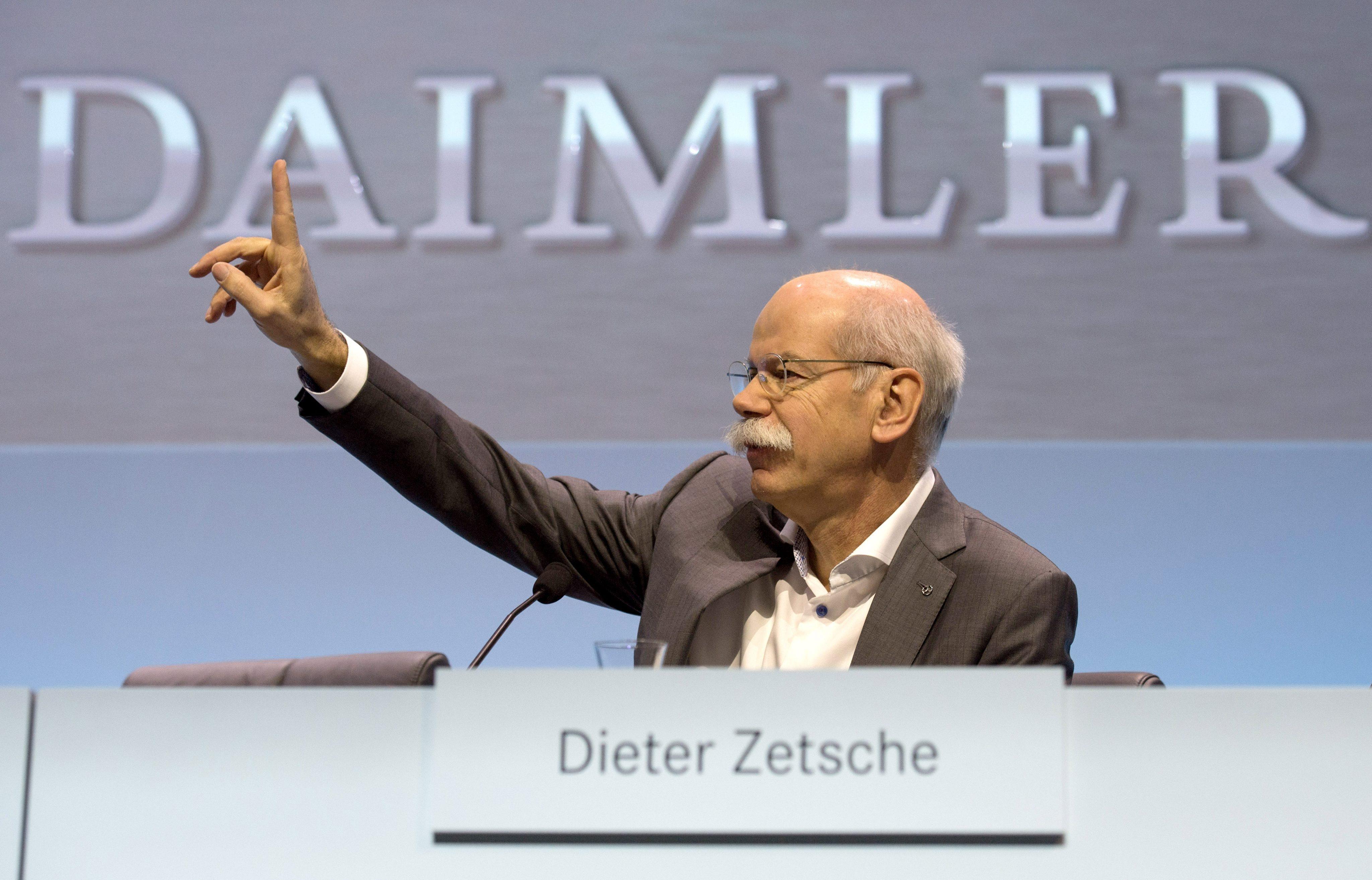 Daimler će uložiti pet milijardi juana u Kinu