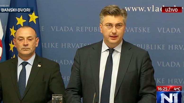 Plenković vjeruje da će i druge rejting agencije pratiti potez Fitcha