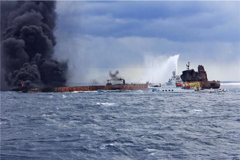 Nafta iz iranskog tankera razlila se Istočnim kineskim morem
