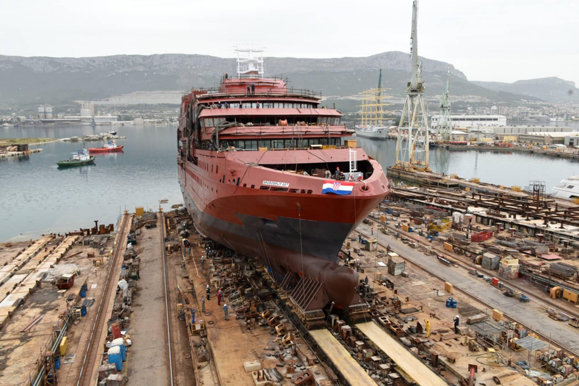 Brodosplit upravo radi na putničkom brodu za nizozemskog naručitelja